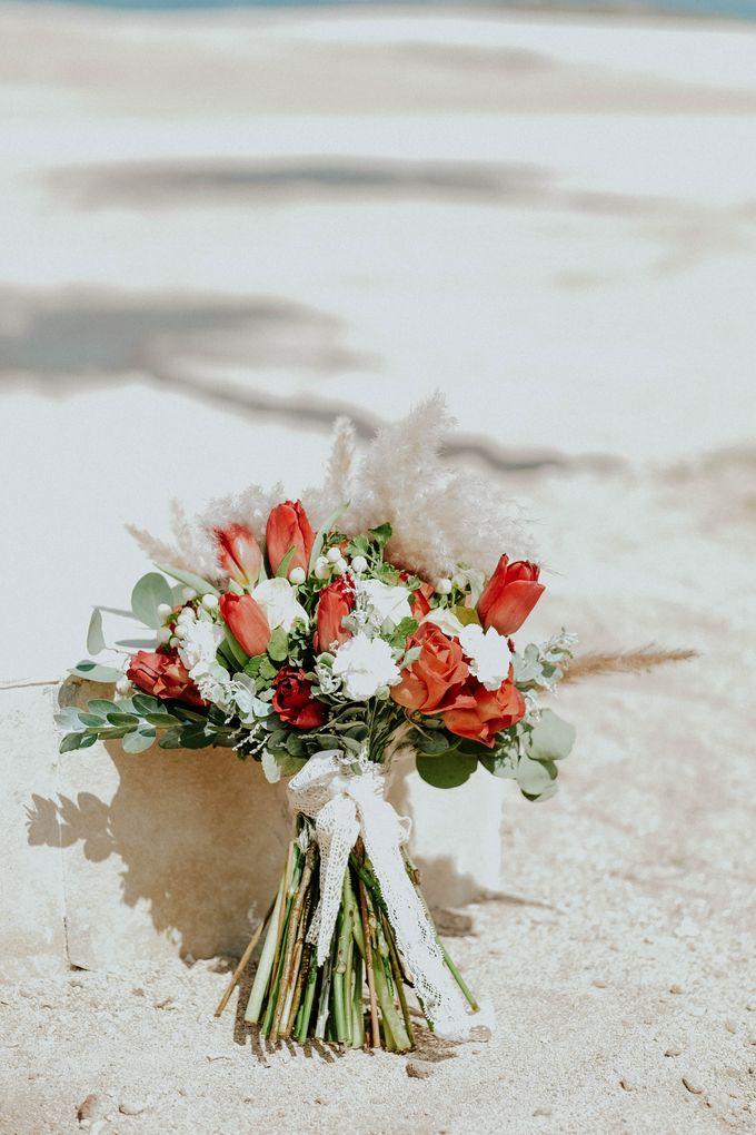 Celine and Paul Wedding at kempinski by Bali Flower Decor - 002