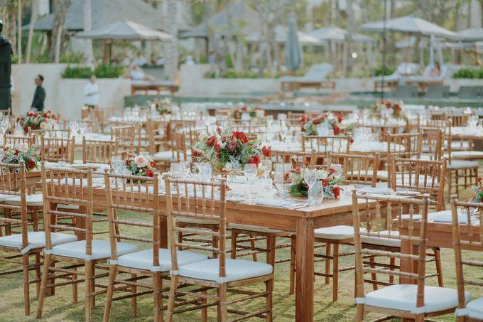 Celine and Paul Wedding at kempinski by Bali Flower Decor - 009