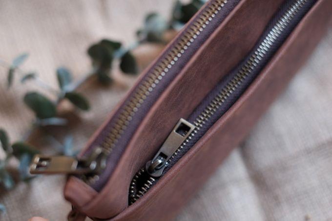 Pouch double zipper by VAIA - 003