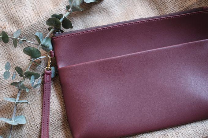 Pouch double zipper by VAIA - 004