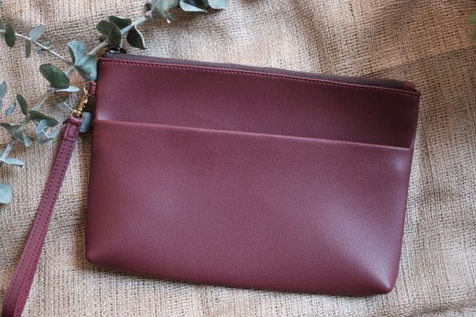 Pouch double zipper by VAIA - 005