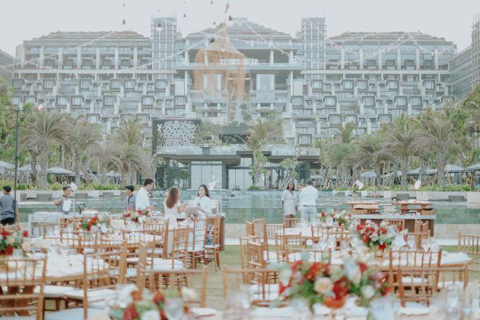 Celine and Paul Wedding at kempinski by Bali Flower Decor - 001