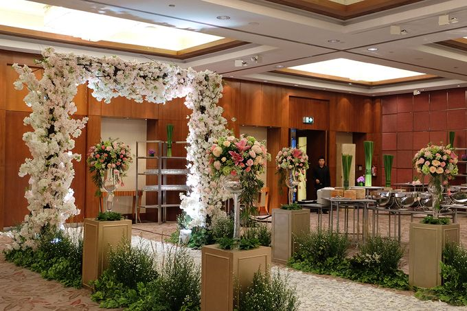 The Wedding of Rio & Melissa by The Swan Decoration - 027