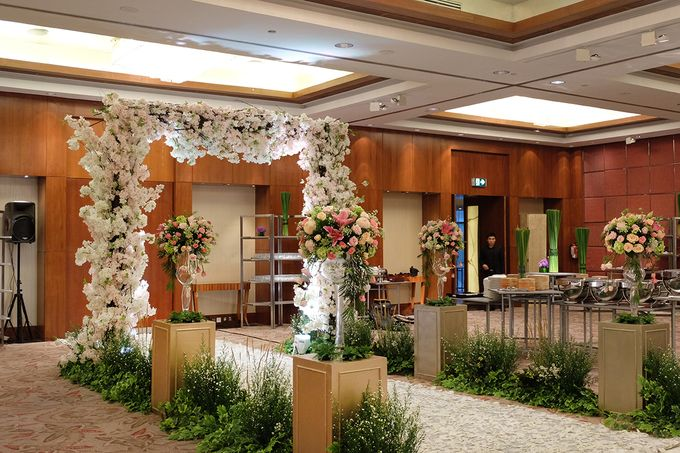 The Wedding of Rio & Melissa by The Swan Decoration - 030