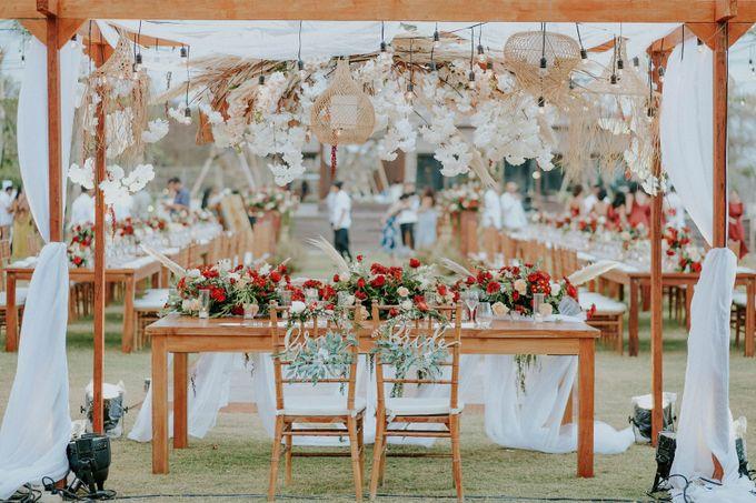 Celine and Paul Wedding at kempinski by Bali Flower Decor - 017