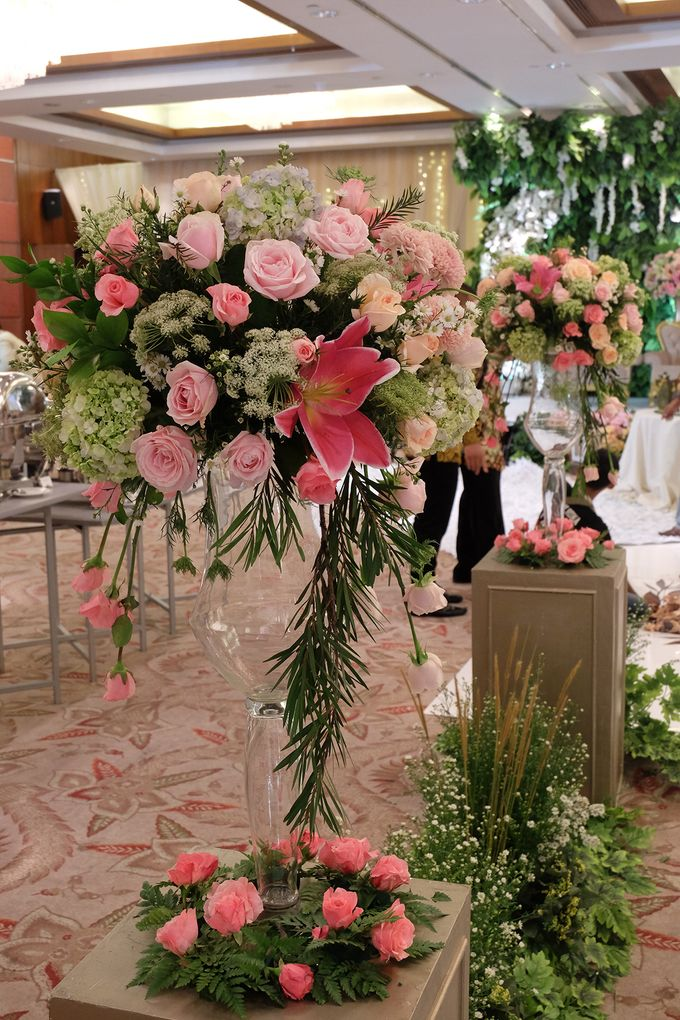 The Wedding of Rio & Melissa by The Swan Decoration - 004