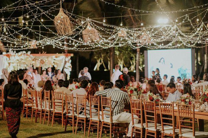 Celine and Paul Wedding at kempinski by Bali Flower Decor - 018