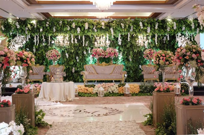 The Wedding of Rio & Melissa by The Swan Decoration - 019