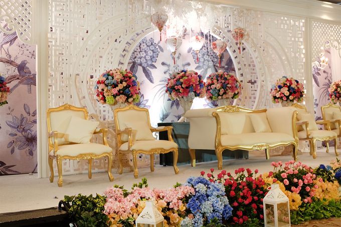The Wedding of Teddy and Ivana by Mandarin Oriental, Jakarta - 001