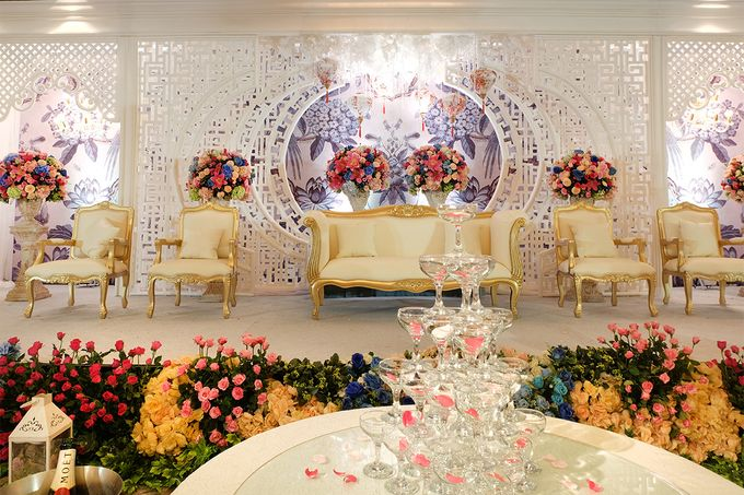 The Wedding of Teddy and Ivana by Mandarin Oriental, Jakarta - 002