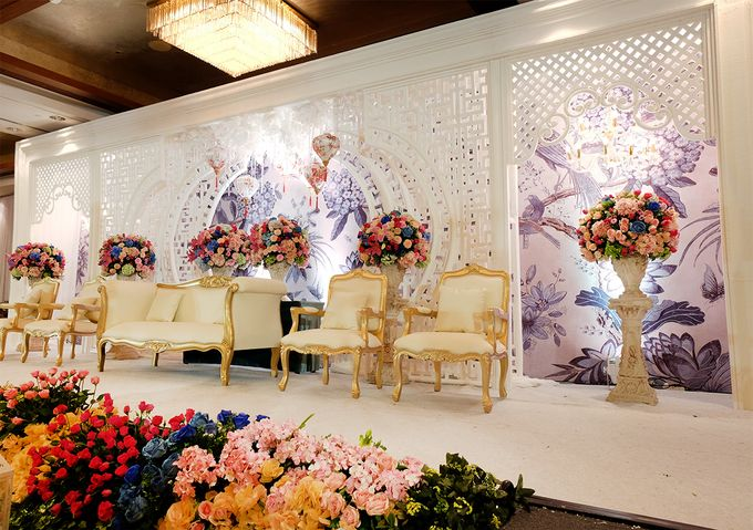 The Wedding of Teddy and Ivana by Mandarin Oriental, Jakarta - 003