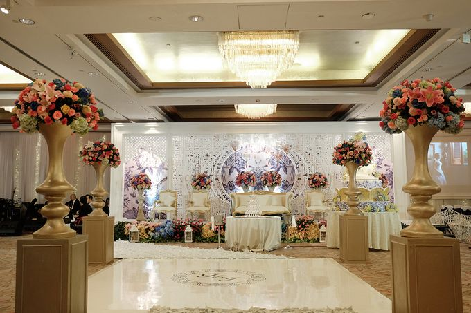 The Wedding of Teddy and Ivana by Mandarin Oriental, Jakarta - 007