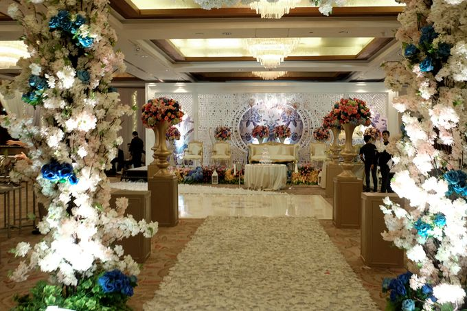 The Wedding of Teddy and Ivana by Mandarin Oriental, Jakarta - 009