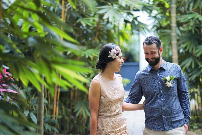 Garden Rooftop Wedding by Bisma Eight - 001