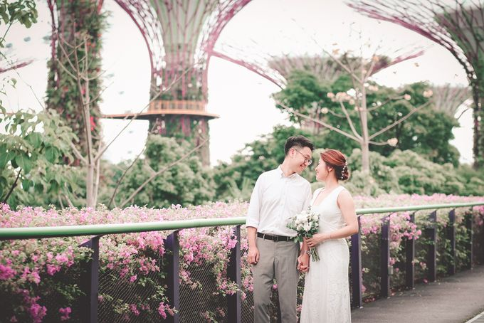 Ken & Kiya Gardens By The Bay Pre-wedding Shoot by Jen's Obscura (aka Jchan Photography) - 006