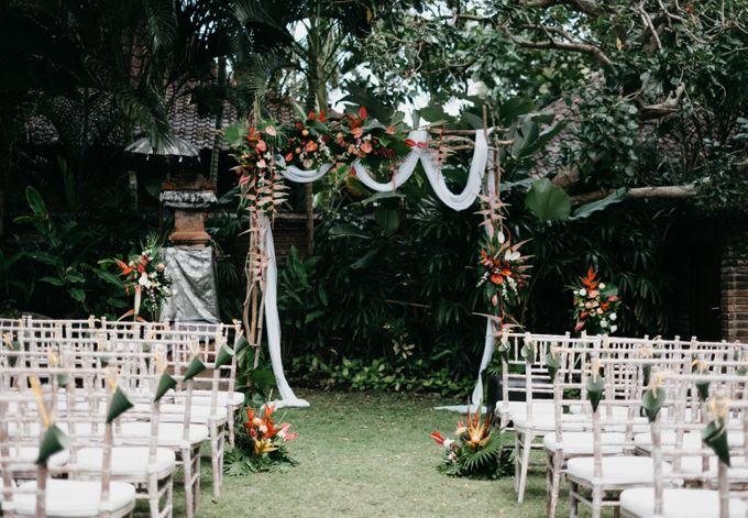 Bali Wedding of Pieter & Lieselotte by Bali Wedding Services - 005
