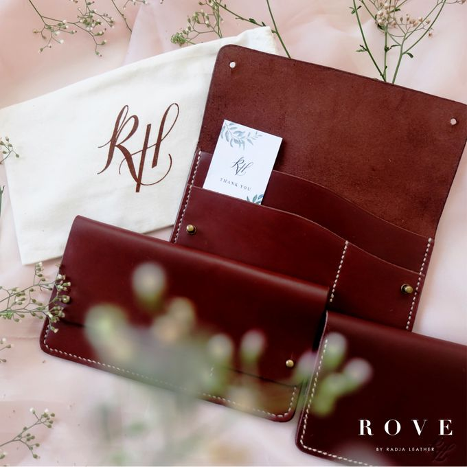 Raisa & Hamish - Europe Travel Wallet by THE HOST TABLE - 009
