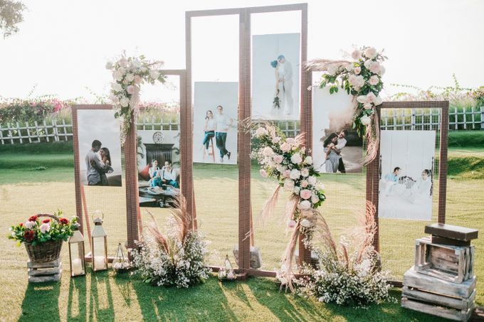 Elegant Wedding by Bali Izatta Wedding Planner & Wedding Florist Decorator - 004