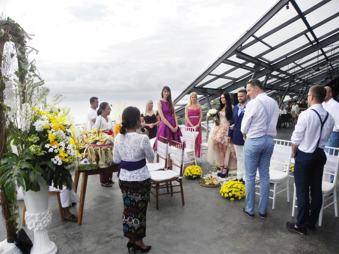 Balinese Wedding  of  Kristina Dimsiene by Anantara Seminyak Bali Resort - 003