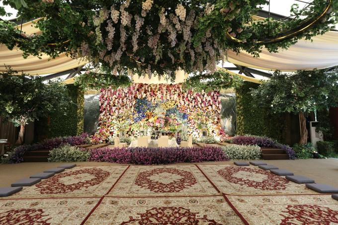 Resepsi Akad Nikah Tasya Farasya & Ahmad Assegaf  by The Dharmawangsa Jakarta - 017