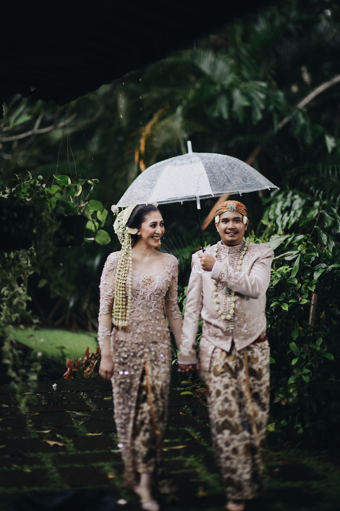 Acara Pernikahan Okta Vida by D'soewarna Wedding Planning - 022