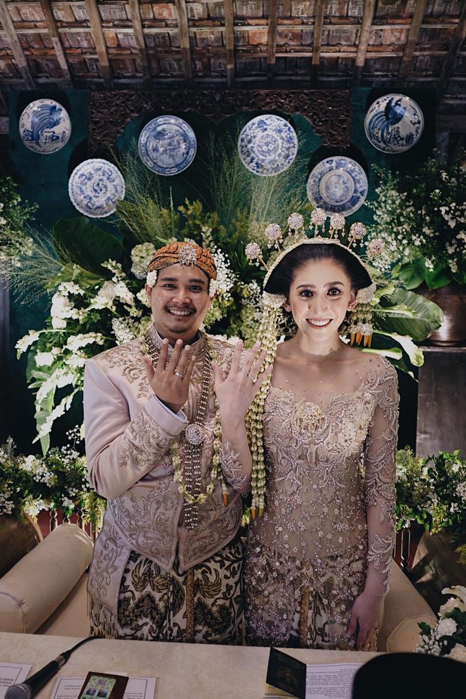 Acara Pernikahan Okta Vida by D'soewarna Wedding Planning - 035