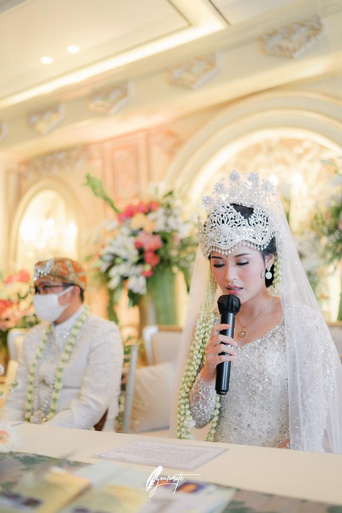Acara Pernikahan Aisyah Derry  by D'soewarna Wedding Planning - 010