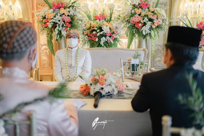 Acara Pernikahan Aisyah Derry  by D'soewarna Wedding Planning - 012