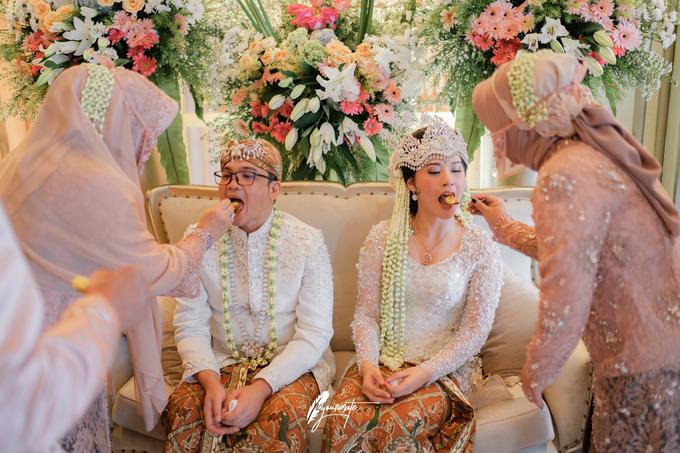 Acara Pernikahan Aisyah Derry  by D'soewarna Wedding Planning - 013