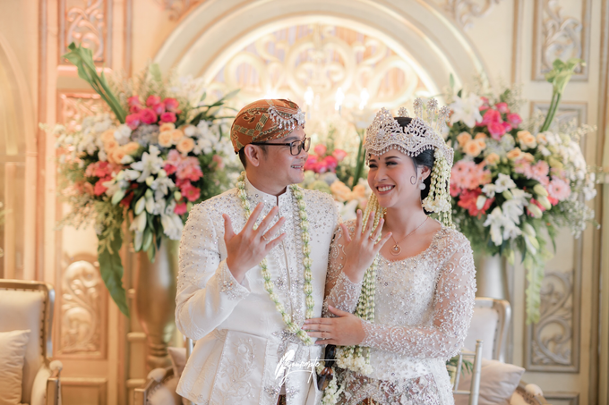 Acara Pernikahan Aisyah Derry  by D'soewarna Wedding Planning - 016