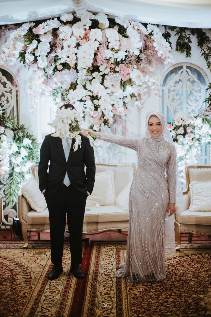 Acara Pernikahan Siti Ardiya Sakinah Salim & Sugiherlambang by D'soewarna Wedding Planning - 018