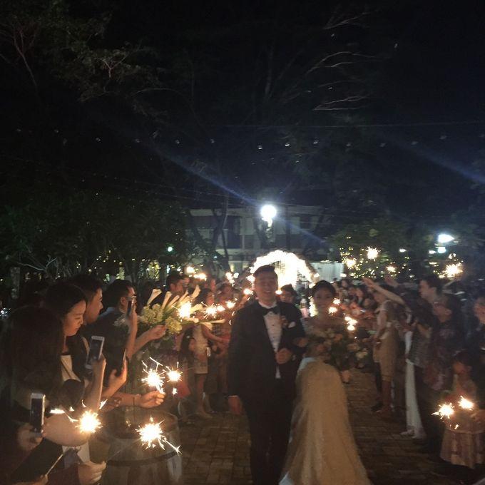 The Wedding Denny Oswaldo & Lusiana Tanudjaja by Red Hat Organizer - 008