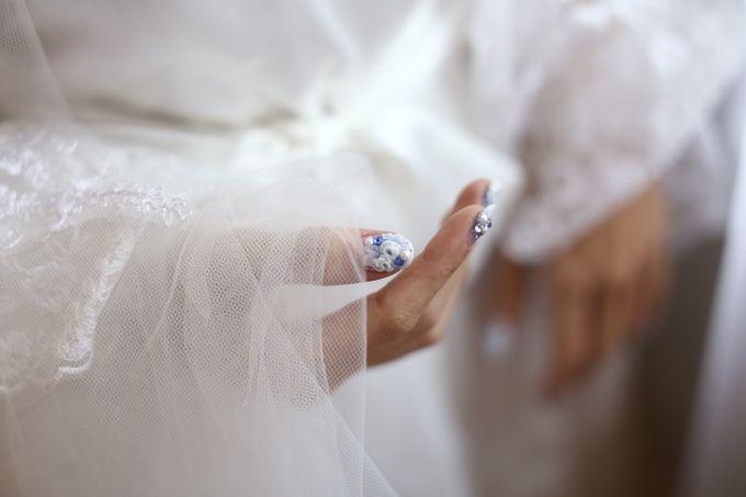 Wedding Of Danny & Elizabeth by Cozzy Photo Print - 017