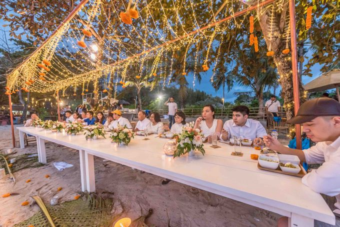 Excel & Chella Gathering Dinner by Hog Wild Catering Bali - 010