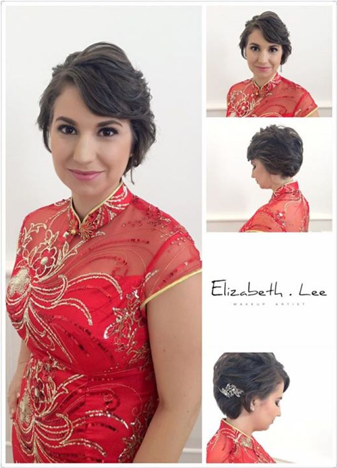 Wedding Day Bride Makeup Service by Elizabeth Lee Makeup Artist - 005