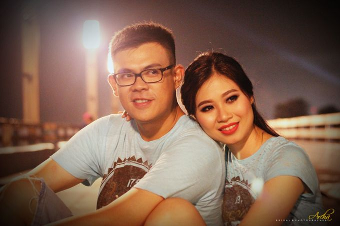 Prewedding outdoor by Archa makeup artist - 004