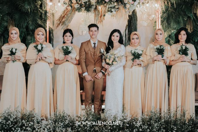 The Wedding Of Intan & Puja by Jakarta Souvenir - 032