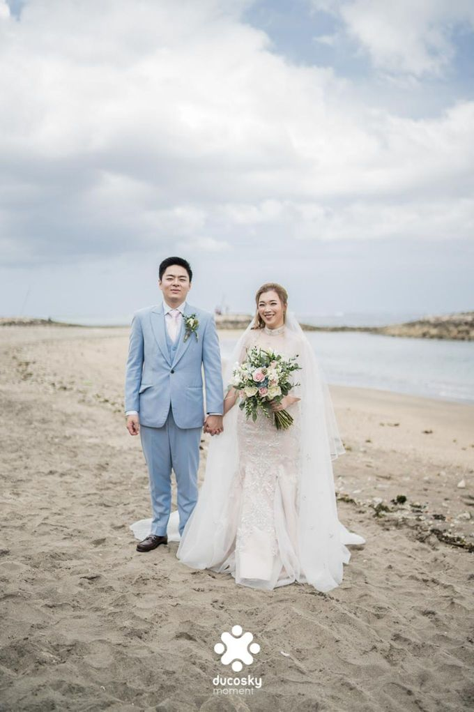 Harfy and Chindy  wedding  Stardust on the beach by Florencia Augustine - 004