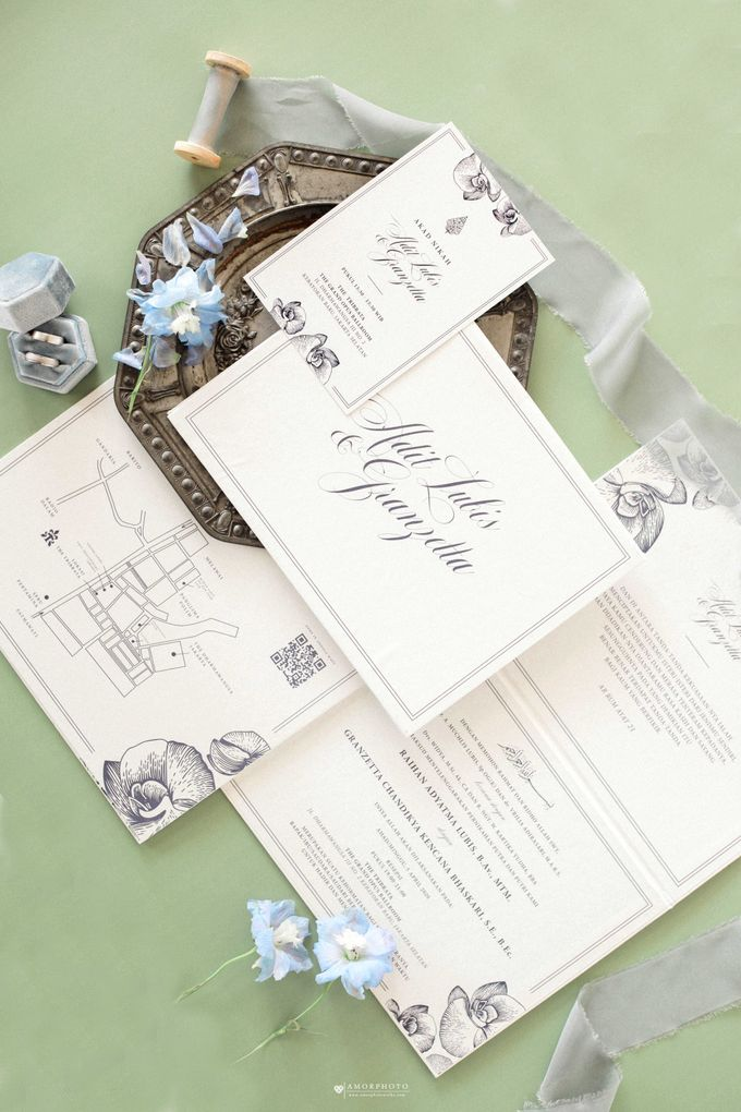 The Wedding of Granzetta & Adit Lubis by Amorphoto - 002