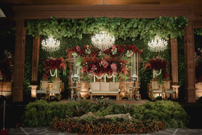 Bold Themed Wedding of Agung Nindita by  Menara Mandiri by IKK Wedding (ex. Plaza Bapindo) - 001