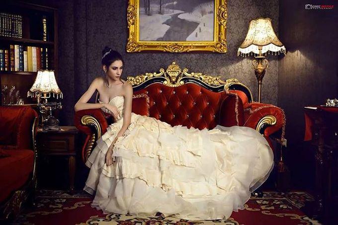 Victorian Bridal Pre Wedding Shoot by Beautistylebykoreen - 002