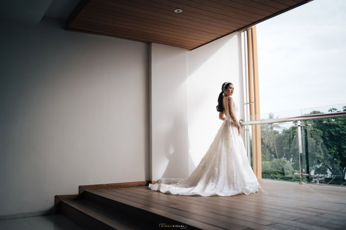 The Wedding Of Christian and Claudia by Kate Bridal and Couture - 004