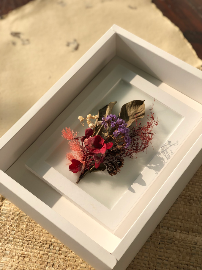 Custom scented wax art frame for Farewell Gift by é.clat - 004