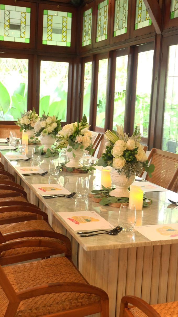 Kompasiana Taste of Macao Table Decoration - NUSA Indonesian Gastronomy 14 Juli 2018 by FIORE & Co. Decoration - 005