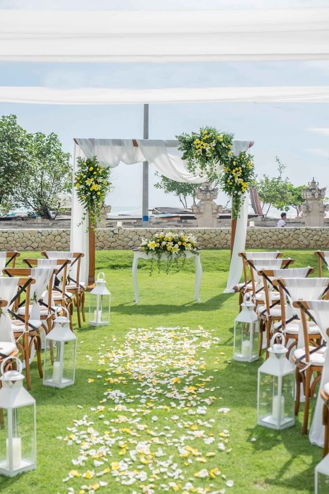 Yellow White and Green by CITTA Wedding - 001