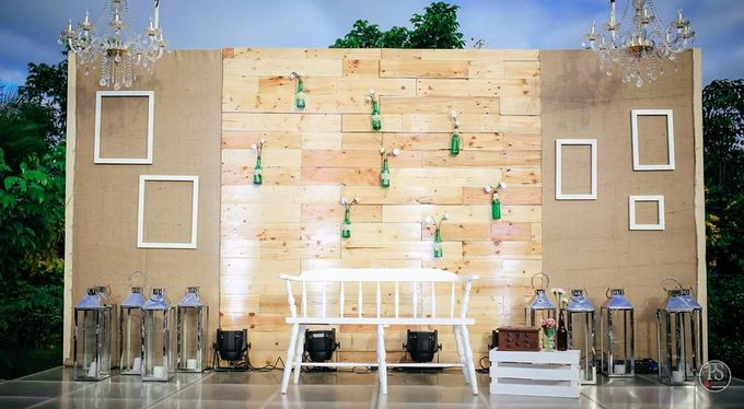Rustic and A Hundred Drop Lights. by Eye Candy Manila Event Styling Co. - 002
