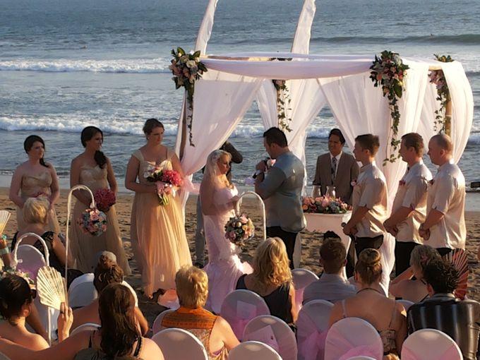 Beach Wedding Ceremony by Bali Wedding Assistant - 001