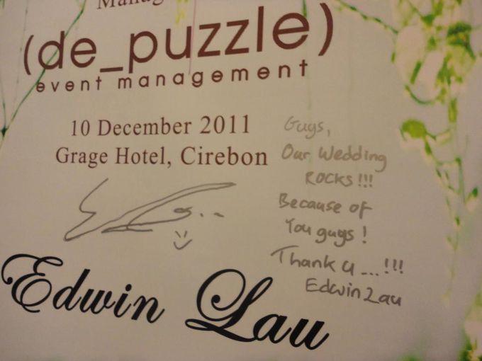 de_Wedding of Edwin Lau & Chika Yessyca by de_Puzzle Event Management - 028