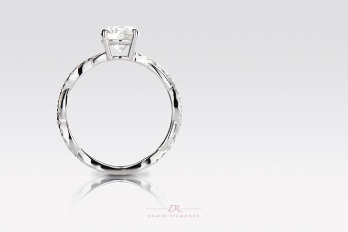 Classic Entwine Engagement Ring by Draco Diamonds - 002