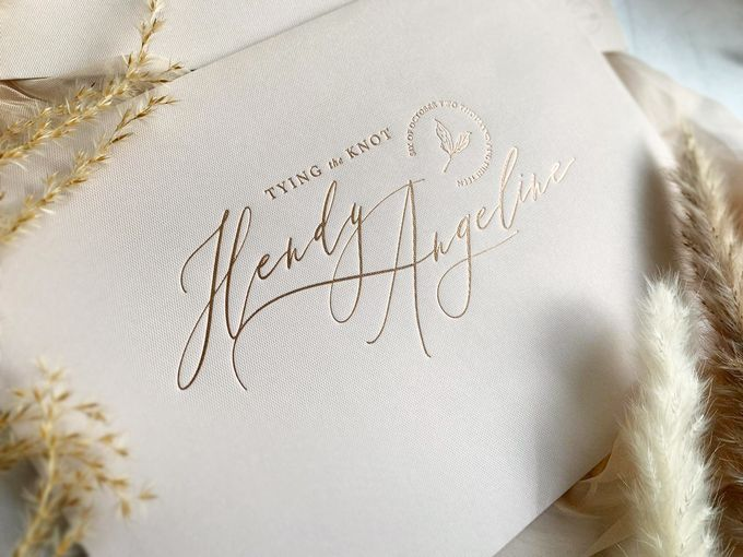 Romantic Bouquet by Trouvaille Invitation - 003